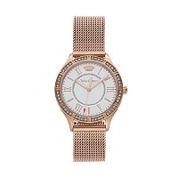 Juicy Couture Women's Arianna Crystal Stainless Steel Watch - 1901379