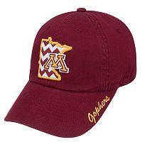 Adult Top of the World Minnesota Golden Gophers Chevron Logo Cap