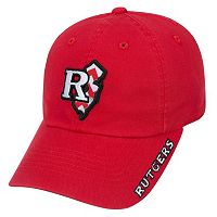 Adult Top of the World Rutgers Scarlet Knights Chevron Logo Cap