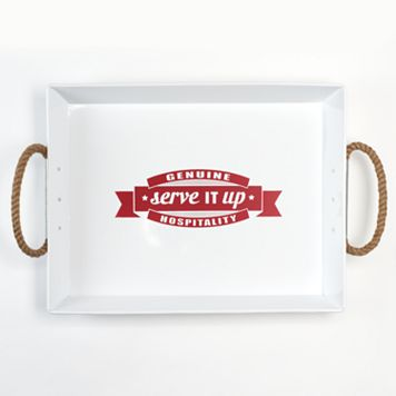 Food Network™ Typography 24-in. Serving Tray