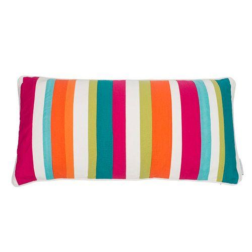 Levtex Tivoli Bone Multi Stripe Throw Pillow