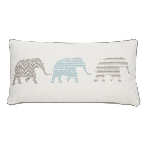 Levtex Skylar Elephants Throw Pillow