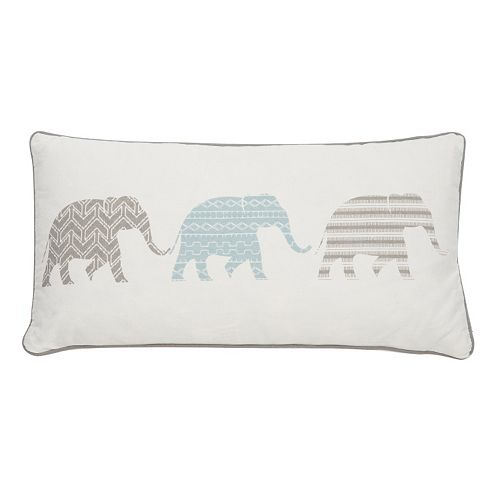Levtex Skylar Elephants Throw Pillow