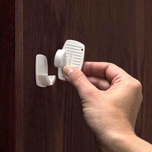 KidCo Adhesive Mount Magnet Lock-Key Set
