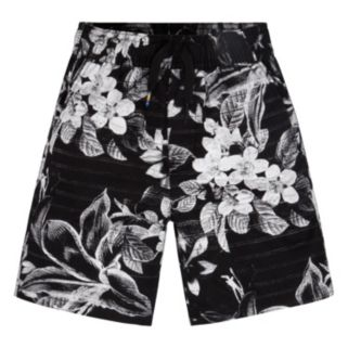 Toddler Boy Hurley Tropical Flower Printed Pull-On Shorts