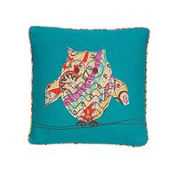 Levtex Casablanca Owl Throw Pillow