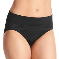 Warner's No Pinching No Problem Seamless Striped Hi-Cut Panty RT5501P - Women's