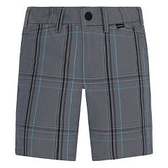 Toddler Boy Hurley Plaid Shorts