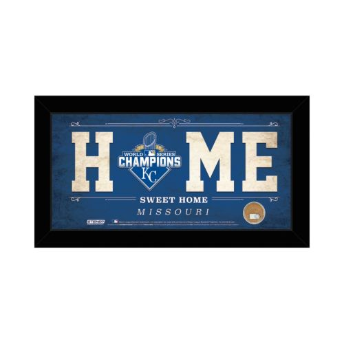 Steiner Sports Kansas City Royals 2015 World Series Champions Home Sweet Home Wall Art