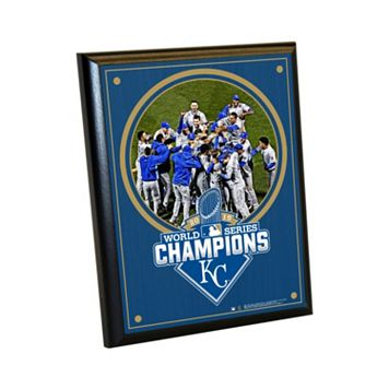 Steiner Sports Kansas City Royals 2015 World Series Champions Champions Wall Art