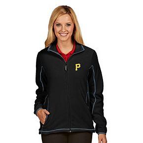 Women's Antigua Pittsburgh Pirates Ice Polar Fleece Jacket