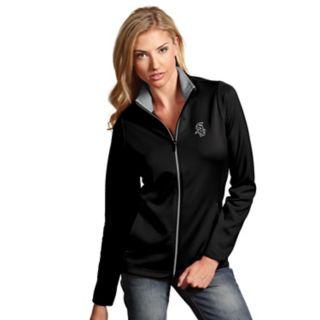 Women's Antigua Chicago White Sox Leader Jacket