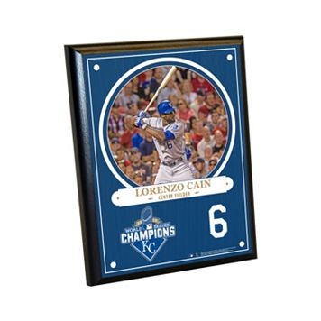 Steiner Sports Kansas City Royals 2015 World Series Champions Lorenzo Cain Plaque