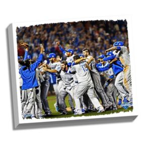 Steiner Sports Kansas City Royals 2015 World Series Champions Celebration Wall Art