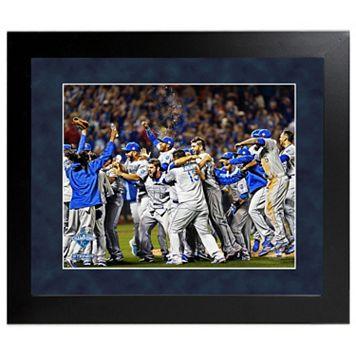 Steiner Sports Kansas City Royals 2015 World Series Champions Team Celebration Wall Art