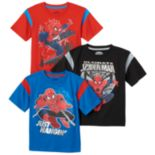 Toddler Boy 3 pkMarvel Spider-Man Tees