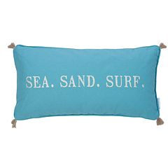 Levtex Maui ''Sea Sand Surf'' Throw Pillow