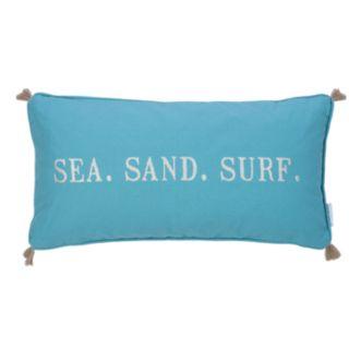 Levtex Maui ''Sea Sand Surf'' Throw Pillow