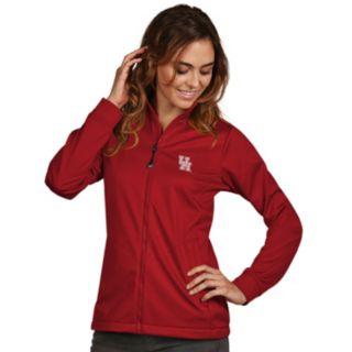 Women's Antigua Houston Cougars Waterproof Golf Jacket