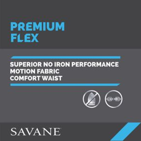 Savane Premium Flex Gab Stretch Dress Pants
