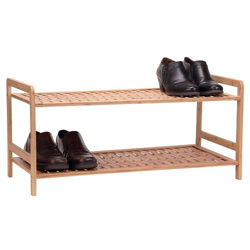 Household Essentials 2-Tier Shoe Rack