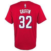 Boys 8-20 adidas Los Angeles Clippers Blake Griffin Player Tee