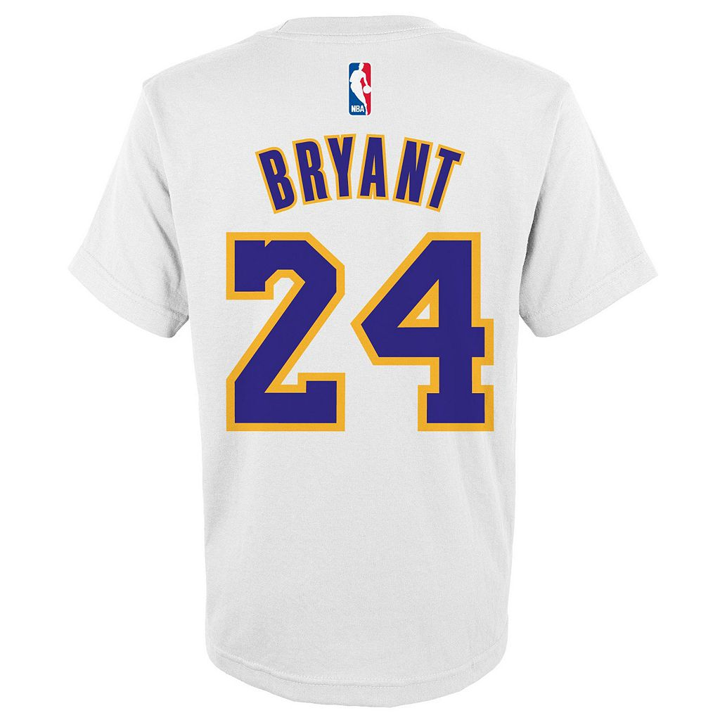 Boys 8-20 adidas Los Angeles Lakers Kobe Bryant Player Tee