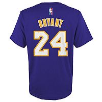 Boys 8-20 adidas Los Angeles Lakers Kobe Bryant Player Tee