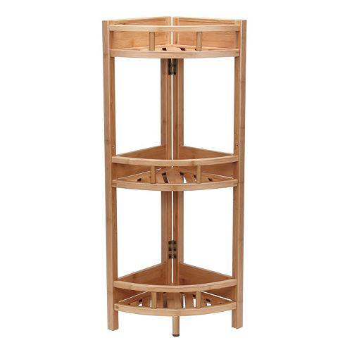 Household Essentials 3 Shelf Corner Unit