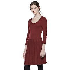 Thakoon for DesigNation Cable-Knit Fit & Flare Dress - Women's
