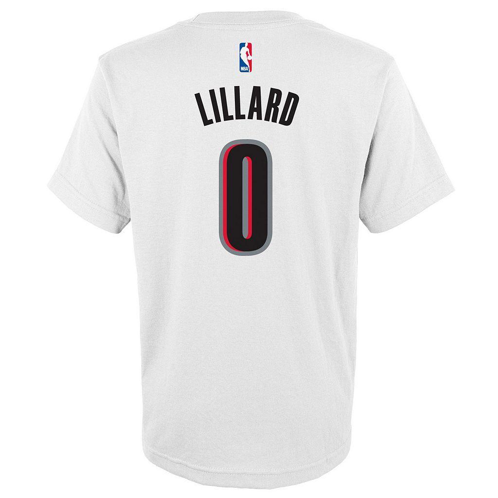 Boys 8-20 adidas Portland Trail Blazers Damian Lillard Player Tee