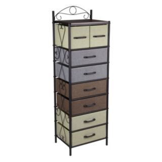 Household Essentials 8-Drawer Tower