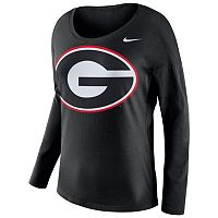Women's Nike Georgia Bulldogs Tailgate Long-Sleeve Top