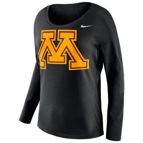 Women's Nike Minnesota Golden Gophers Tailgate Long-Sleeve Top