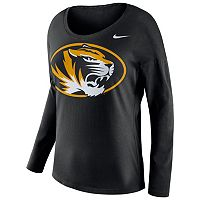 Women's Nike Missouri Tigers Tailgate Long-Sleeve Top