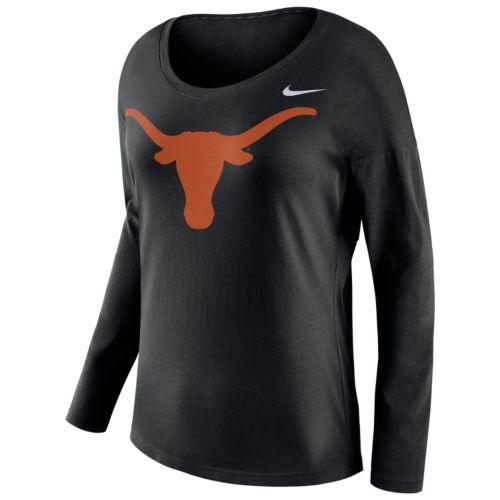 Women's Nike Texas Longhorns Tailgate Long-Sleeve Top