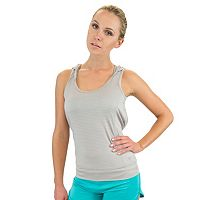 Women's Colosseum Sleeveless Drop Needle Sleeveless Yoga Hoodie