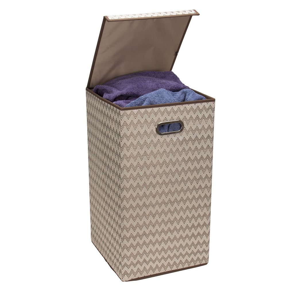 Household Essentials Folding Single Hamper