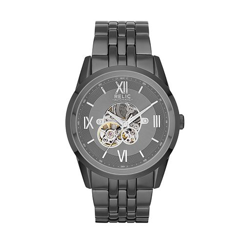Relic Men's Blaine Automatic Skeleton Watch