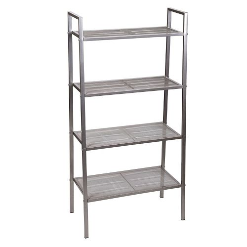 Household Essentials 4-Tier Tapered Storage Rack