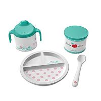Baby Stella Darling Dish Set by Manhattan Toy