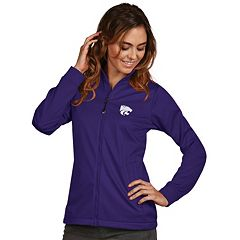 Women's Antigua Kansas State Wildcats Waterproof Golf Jacket