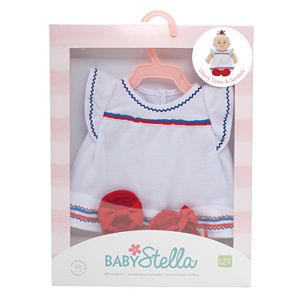 Baby Stella Liberty Dress & Sandals Outfit by Manhattan Toy