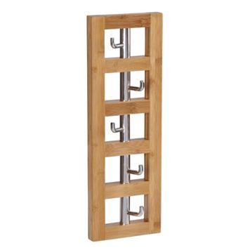 Household Essentials 5-Hook Vertical Wall Rack