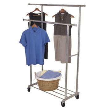 Household Essentials Double Garment Rack