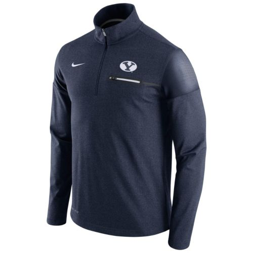 Men's Nike BYU Cougars Elite Coaches Dri-FIT Pullover