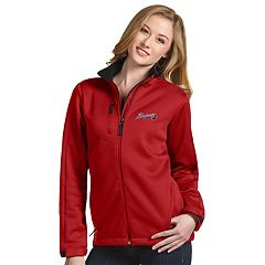 Women's Antigua Atlanta Braves Traverse Jacket