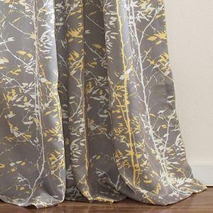 Lush Decor 2-pack Forest Room Darkening Window Curtains