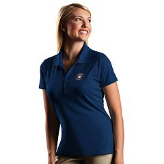 Women's Antigua Houston Astros Xtra-Lite Desert-Dry Pique Performance Polo
