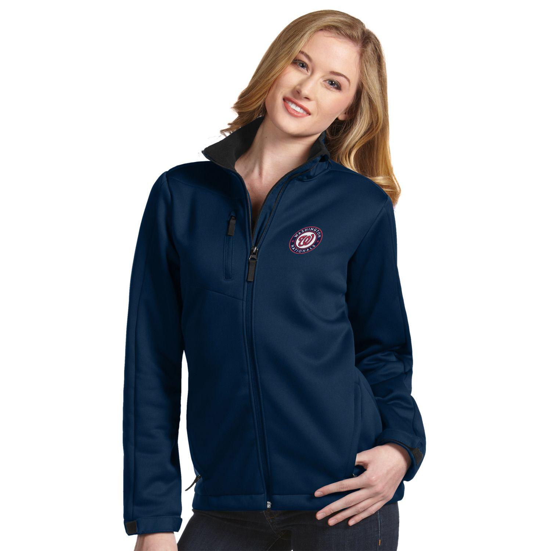 Womens Antigua Washington Nationals Traverse Jacket